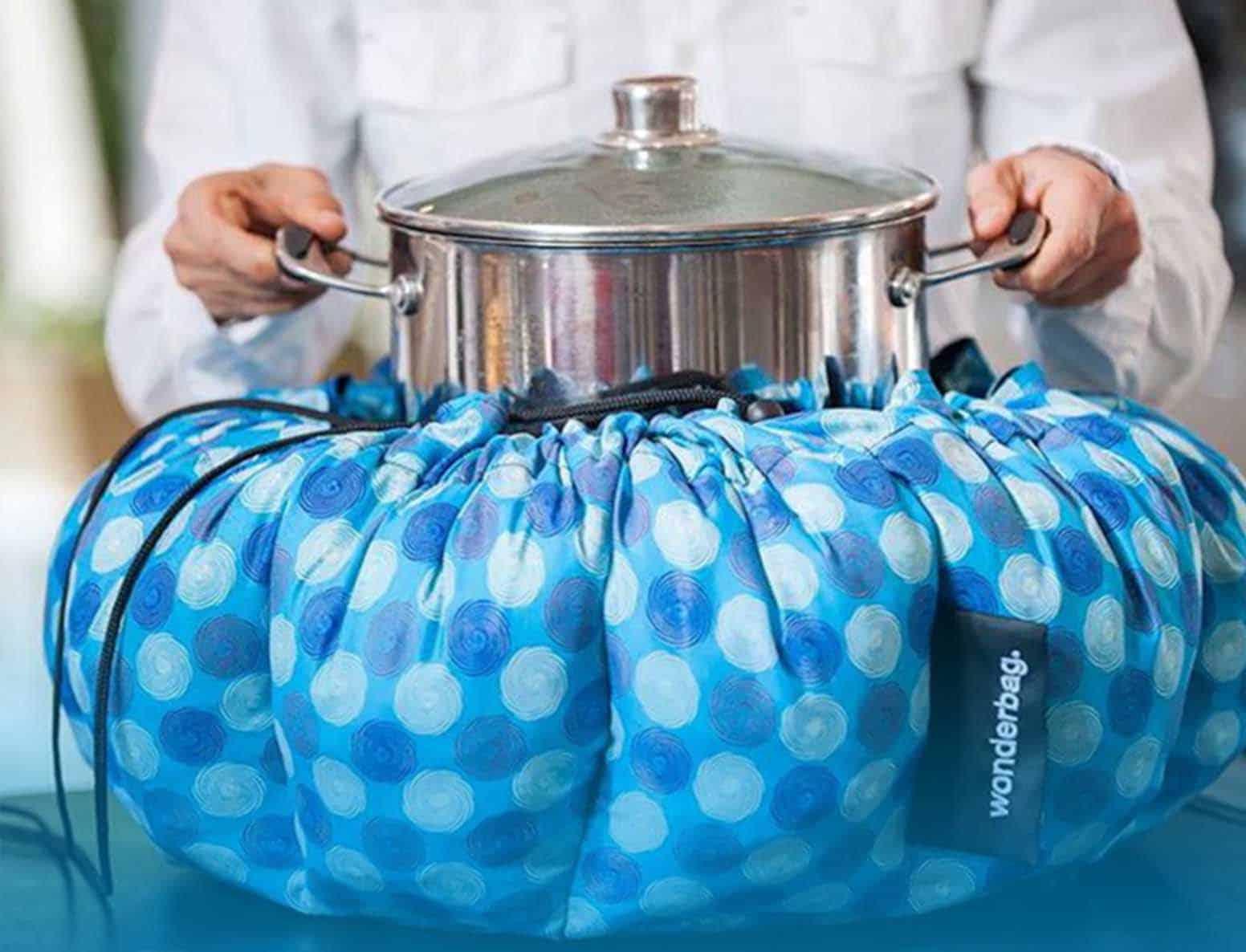 Wonderbag mit Topf stromlos Joghurt zubereiten