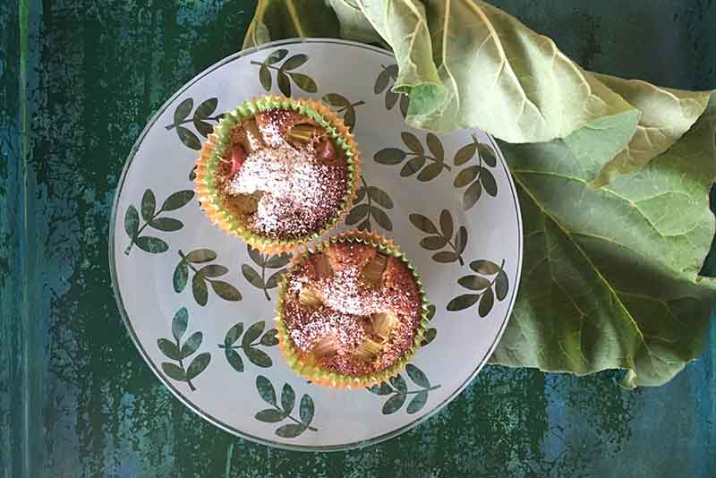 Rhabarber-Joghurt-Muffins