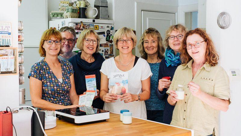 YOGUT Joghurt Workshop Teilnehmerinnen