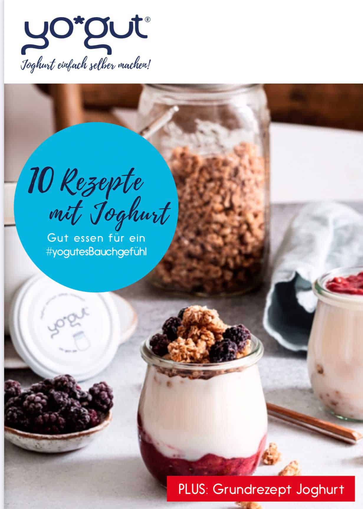 E-Book YOGUT Rezepte mit Joghurt