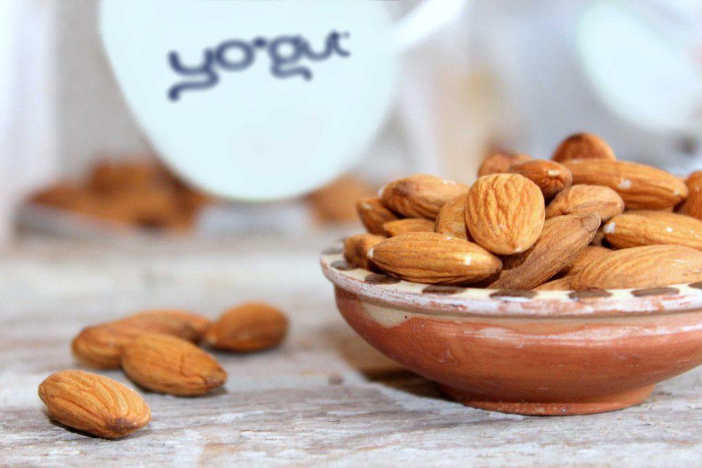 YOGUT Veganer Joghurt aus Mandelmilch
