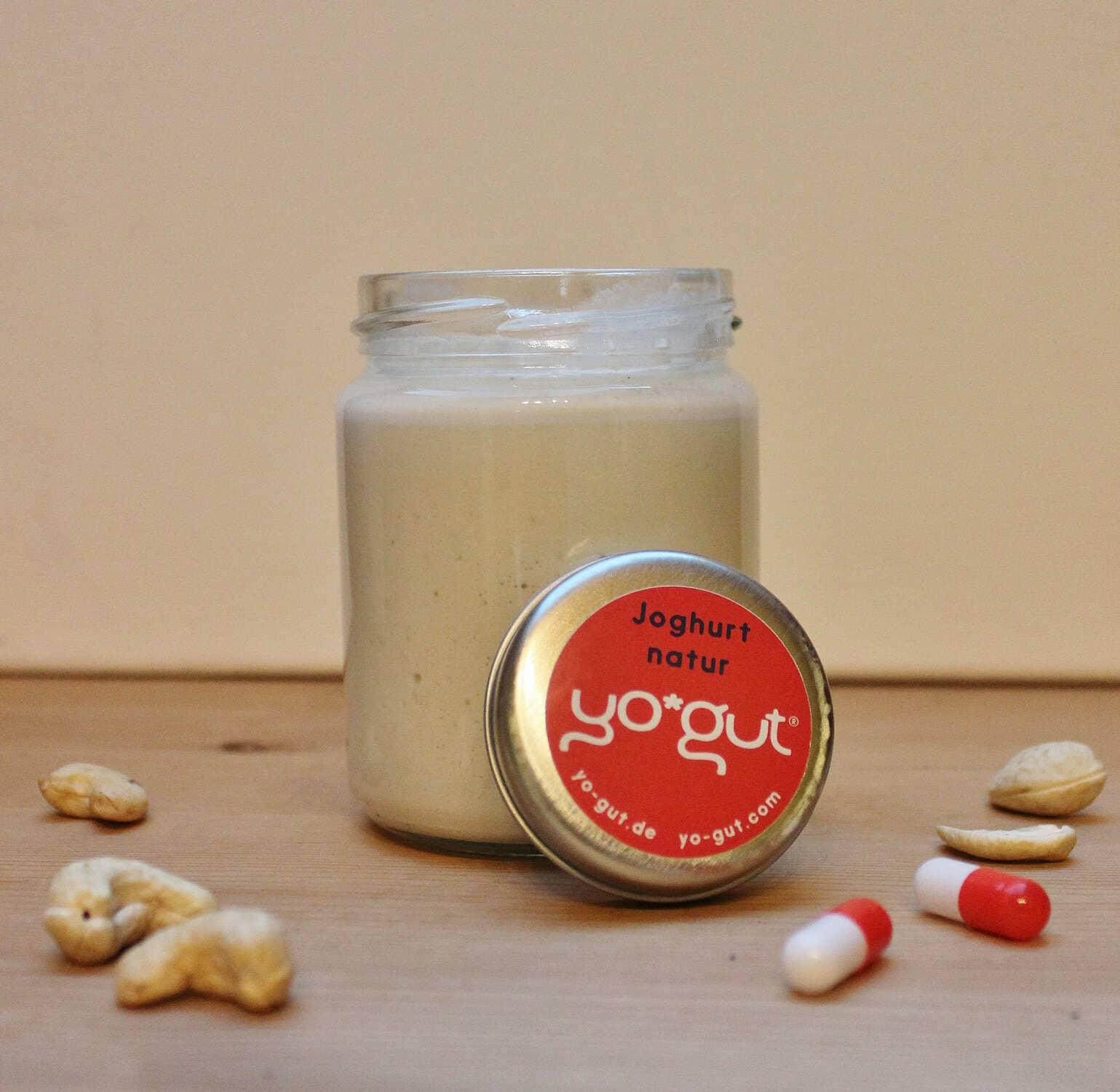 Joghurt aus Cashew-Nüssen