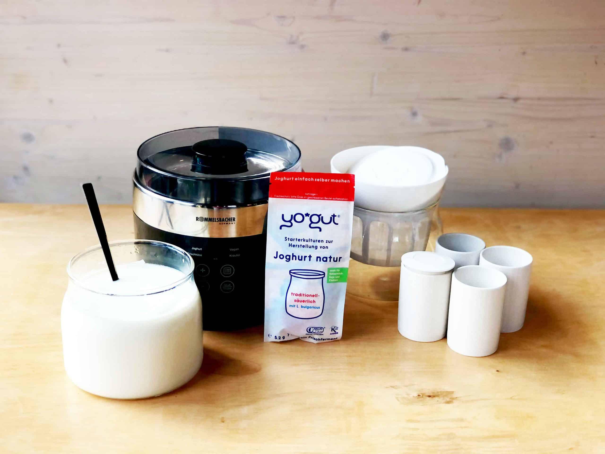 Joghurtbereiter Praxistest: der Jona 80 von Rommelsbacher