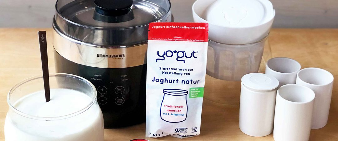 Joghurtbereiter Test YOGUT Rommelsbacher Jona 80 Gewinnspiel
