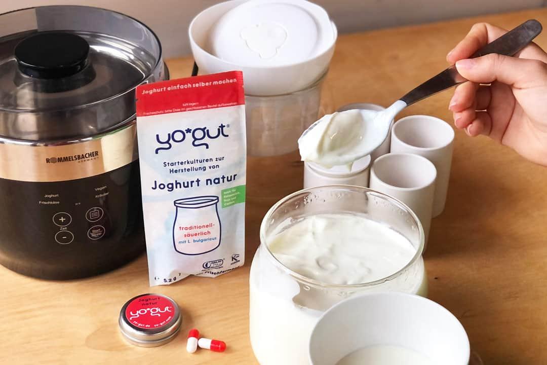 Joghurtbereiter Rommelsbacher Jona 80 YOGUT Starterkulturen